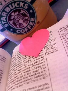 Starbucks and Bible